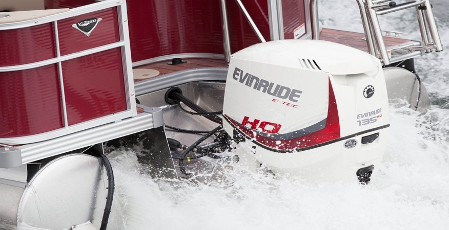 2017 Evinrude E135HSL HO in Oceanside, New York