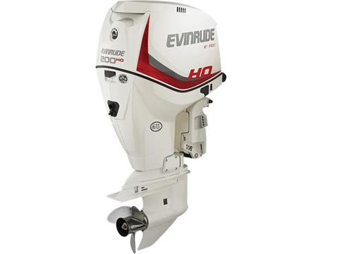 2017 Evinrude E200HCX HO in Eastland, Texas