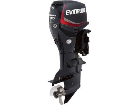 2017 Evinrude E90DPGL in Freeport, Florida