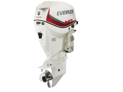2018 Evinrude A115SHX HO in Black River Falls, Wisconsin