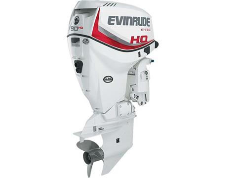 2018 Evinrude E90HSX in Black River Falls, Wisconsin