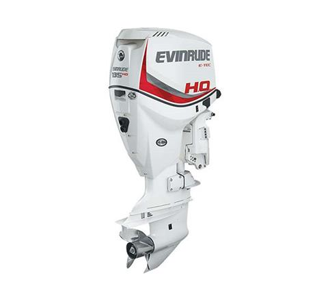 2018 Evinrude E135HSL HO in Black River Falls, Wisconsin