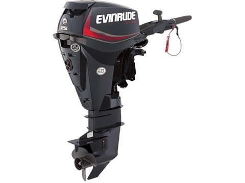 2018 Evinrude E-TEC 25 HP (E25DRGL) in Deerwood, Minnesota