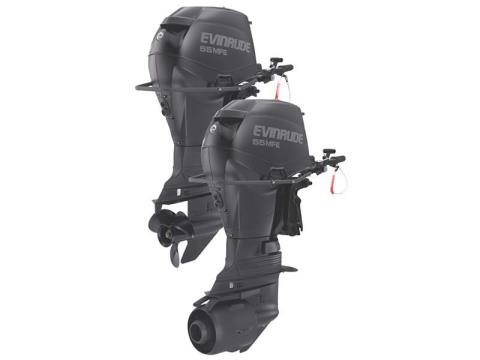 2018 Evinrude E-TEC MFE 55HP (E55MRL) in Freeport, Florida