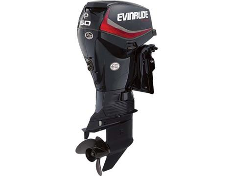 2018 Evinrude E-TEC 60 HP (E60DGTL) in Deerwood, Minnesota