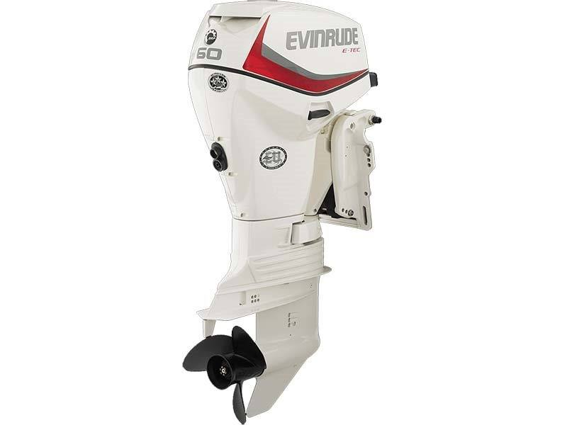 2018 Evinrude E60DSL in Black River Falls, Wisconsin