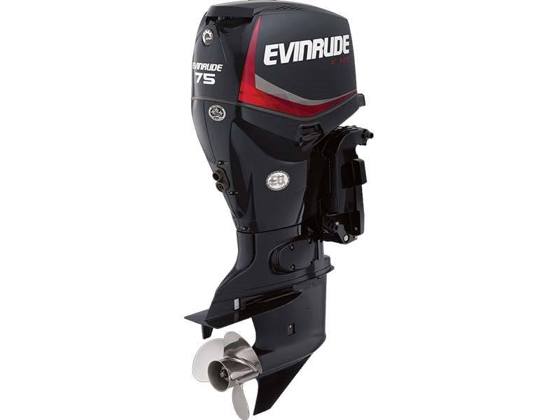 2018 Evinrude E75DPGL in Freeport, Florida - Photo 1