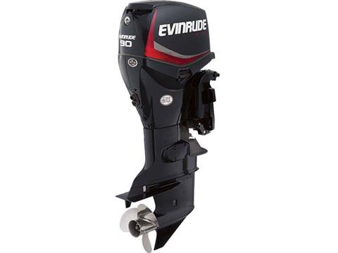 2018 Evinrude E-TEC 90 HP (E90DPGL) in Deerwood, Minnesota