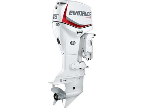 2018 Evinrude E-TEC 90 HP (E90DSL) in Deerwood, Minnesota