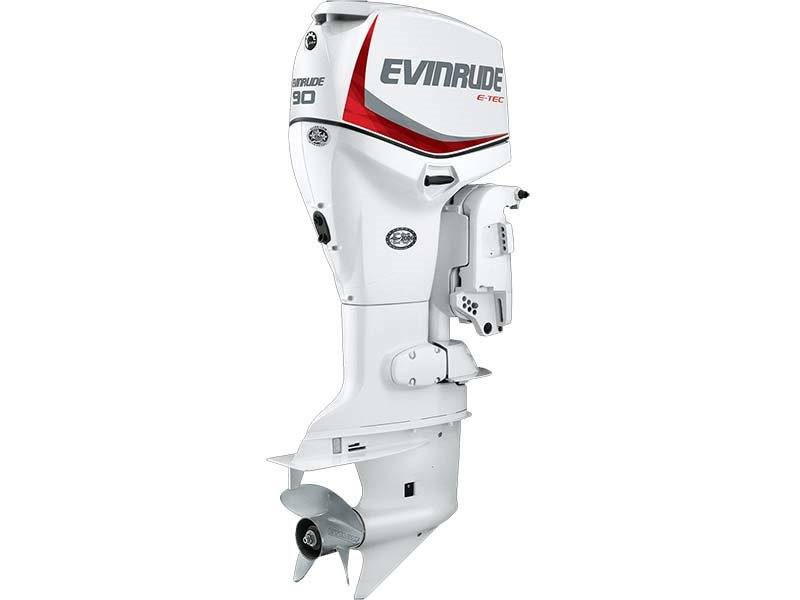 2018 Evinrude E90DSL in Black River Falls, Wisconsin