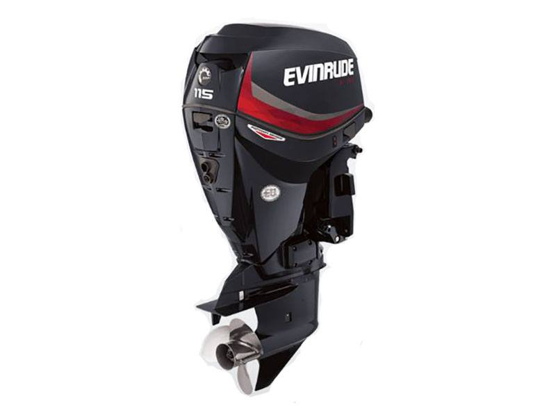 2019 Evinrude E-TEC Pontoon 115 HP (E115DGX) in Memphis, Tennessee - Photo 1