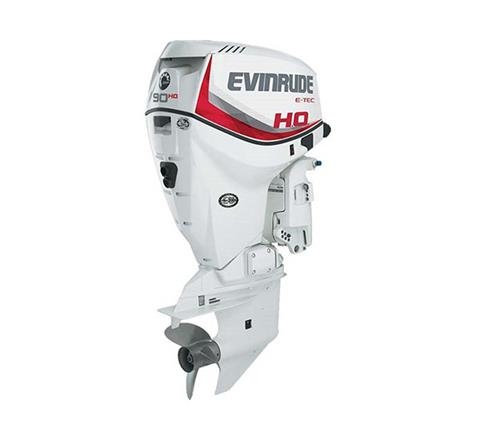 2019 Evinrude E-TEC 90 HO (E90HSX) in Freeport, Florida