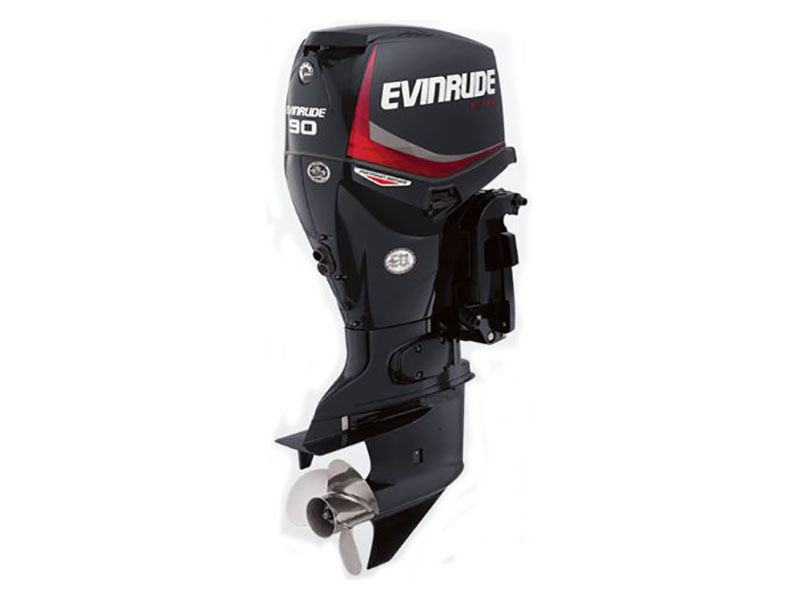 Evinrude E-TEC Pontoon 90 HP (E90DPGL) in Harrison, Michigan - Photo 1