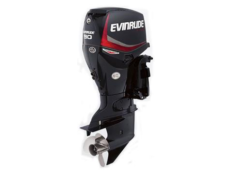 2019 Evinrude E-TEC Pontoon 90 HP (E90DPGL) in Woodruff, Wisconsin