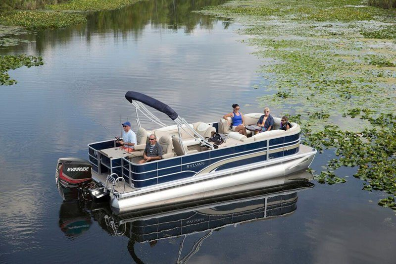 2019 Evinrude E-TEC Pontoon 90 HP (E90DSL) in Norfolk, Virginia - Photo 5