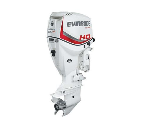 2019 Evinrude E-TEC 135 HO (E135DHX) in Wilmington, Illinois
