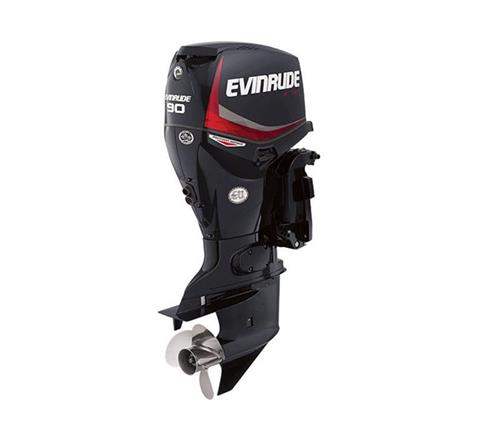 2019 Evinrude E-TEC Pontoon 90 HP (E90GNL) in Woodruff, Wisconsin