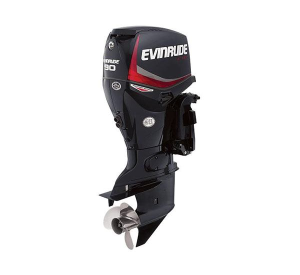 2019 Evinrude E-TEC Pontoon 90 HP (E90GNL) in Oceanside, New York - Photo 1