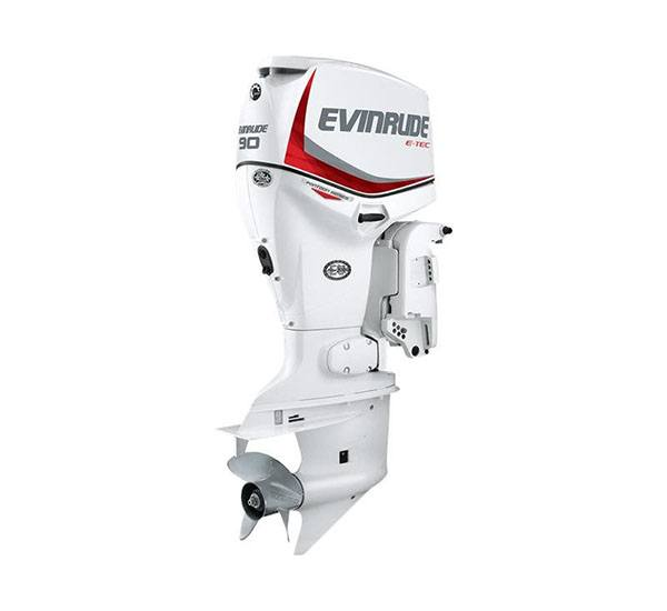2019 Evinrude E-TEC Pontoon 90 HP (E90SNL) in Lafayette, Louisiana - Photo 1