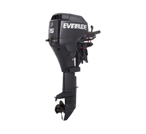 2019 Evinrude Portable 15 HP (E15RG4) in Woodruff, Wisconsin