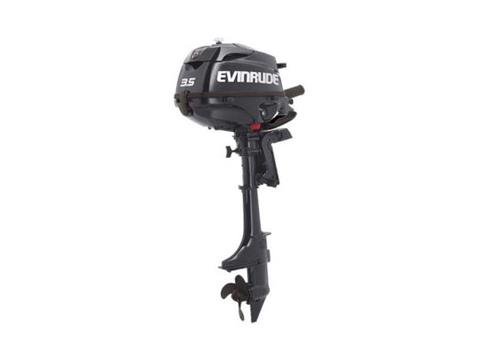2019 Evinrude Portable 3.5 HP (E3RG4) in Woodruff, Wisconsin