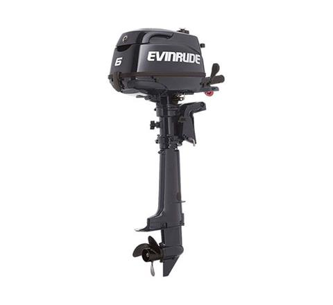 2019 Evinrude Portable 6 HP (E6RG4) in Woodruff, Wisconsin