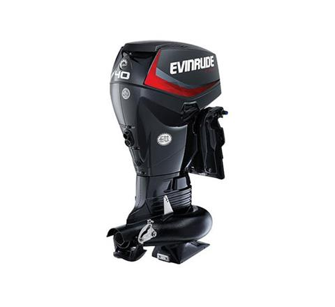 2019 Evinrude E-TEC Jet 40 HP (E40DPJL) in Wilmington, Illinois