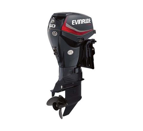 2019 Evinrude E-TEC 50 HP (E50DGTL) in Black River Falls, Wisconsin