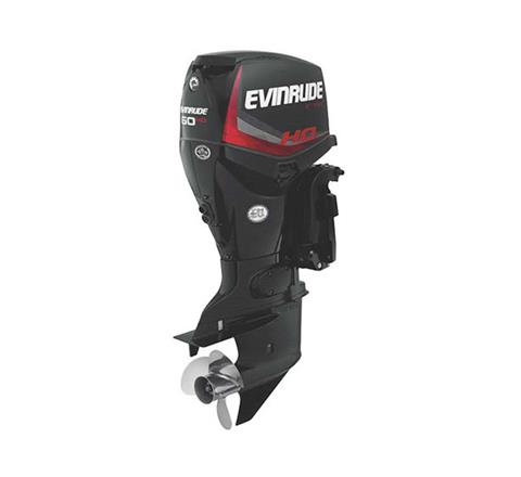 2019 Evinrude E-TEC 60 HP (E60HGX) in Woodruff, Wisconsin