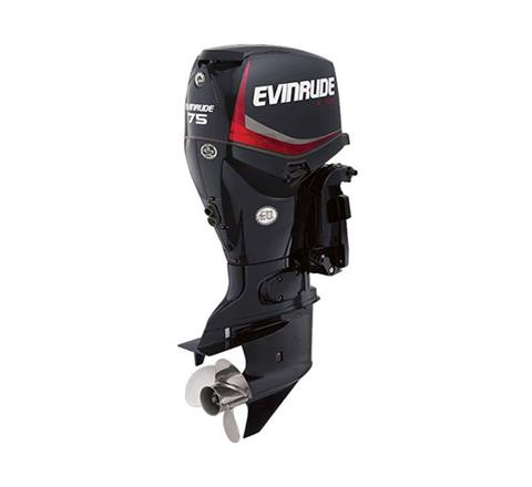 Evinrude E-TEC 75 HP (E75DPGL) in Roscoe, Illinois