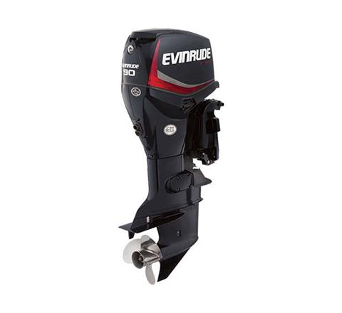 2019 Evinrude E-TEC 90 HP (E90DGX) in Black River Falls, Wisconsin