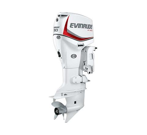 2019 Evinrude E-TEC 90 HP (E90DPX) in Woodruff, Wisconsin