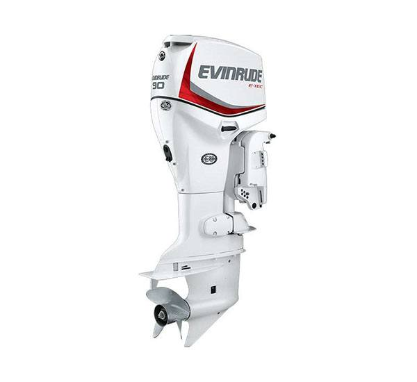 2019 Evinrude E-TEC 90 HP (E90DSL) in Deerwood, Minnesota