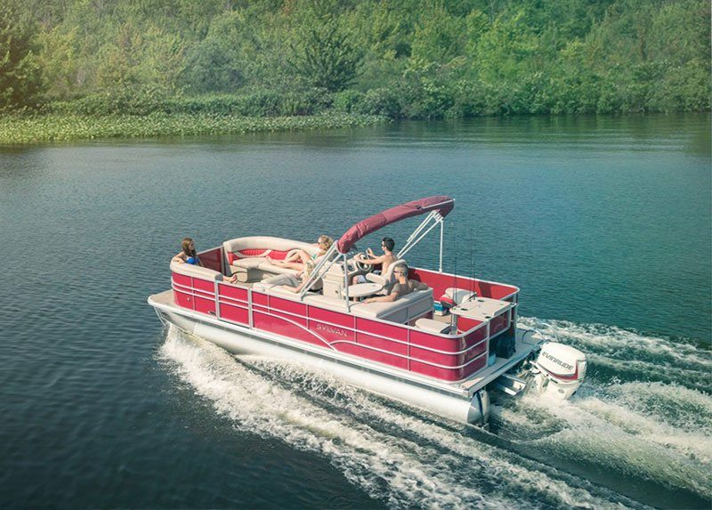 2019 Evinrude E-TEC Pontoon 90 HP (E90SNL) in Lafayette, Louisiana - Photo 2