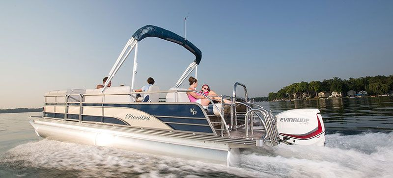 2019 Evinrude E-TEC Pontoon 90 HP (E90SNL) in Lafayette, Louisiana - Photo 5