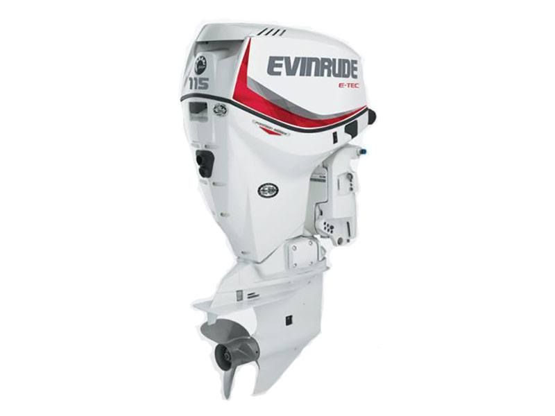 2019 Evinrude E-TEC Pontoon 115 HP (E115DPX) in Memphis, Tennessee - Photo 1