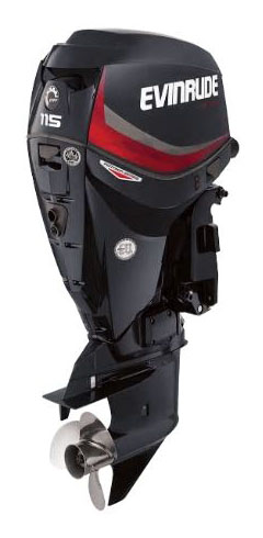 Evinrude E-TEC Pontoon 115 HP in Wilmington, Illinois
