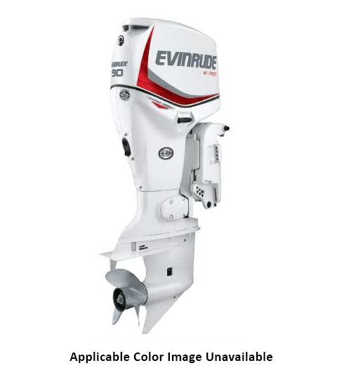 Evinrude E-TEC Pontoon 90 HP in Rapid City, South Dakota