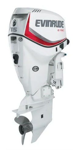Evinrude E-TEC 115 HP (E115DSL) in Wilmington, Illinois