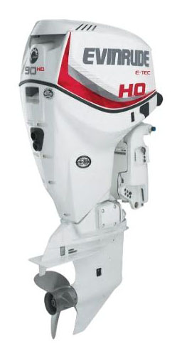 Evinrude E-TEC 90 HO in Wilmington, Illinois