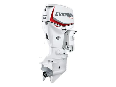 2019 Evinrude E-TEC Pontoon 90 HP (E90DPX) in Woodruff, Wisconsin
