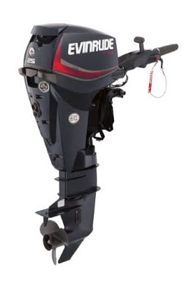 Evinrude E-TEC 25 HP (E25DRGL) in Deerwood, Minnesota