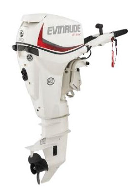 Evinrude E-TEC 30 HP (E30DRSL) in Deerwood, Minnesota