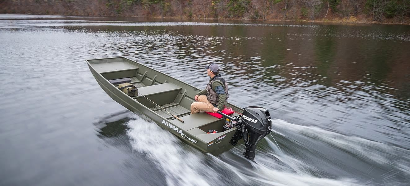 Evinrude Portable 9.8 HP (E10RG4) in Lafayette, Louisiana - Photo 4