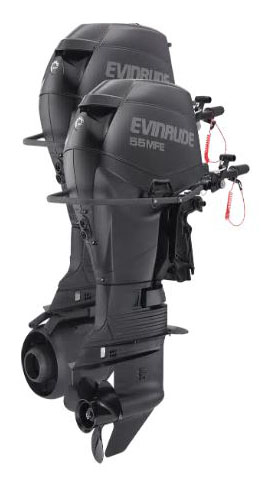 Evinrude E-TEC MFE 55 HP (E55MJRL) in Wilmington, Illinois