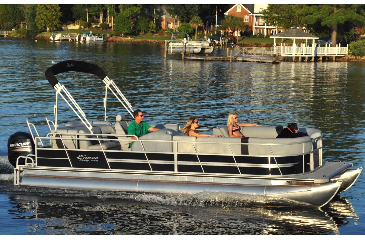 2016 Bentley Pontoons 240/243 Cruise in Stuart, Florida