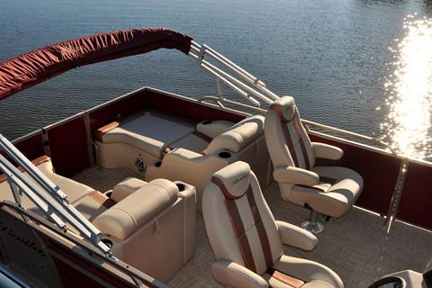 2017 Bentley Pontoons 220 Elite Rear Lounger in Stuart, Florida