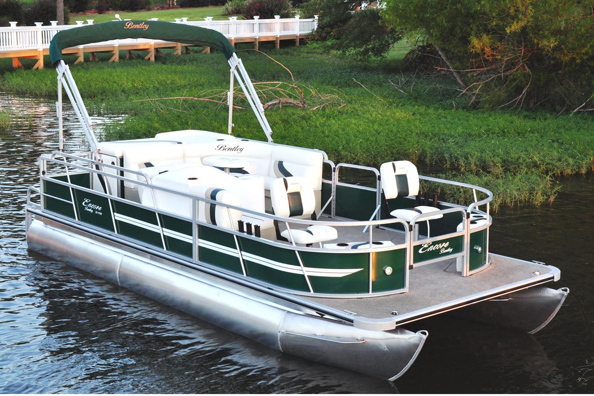 dealers evans stock for boat in boats center purchase available bentley pontoon
