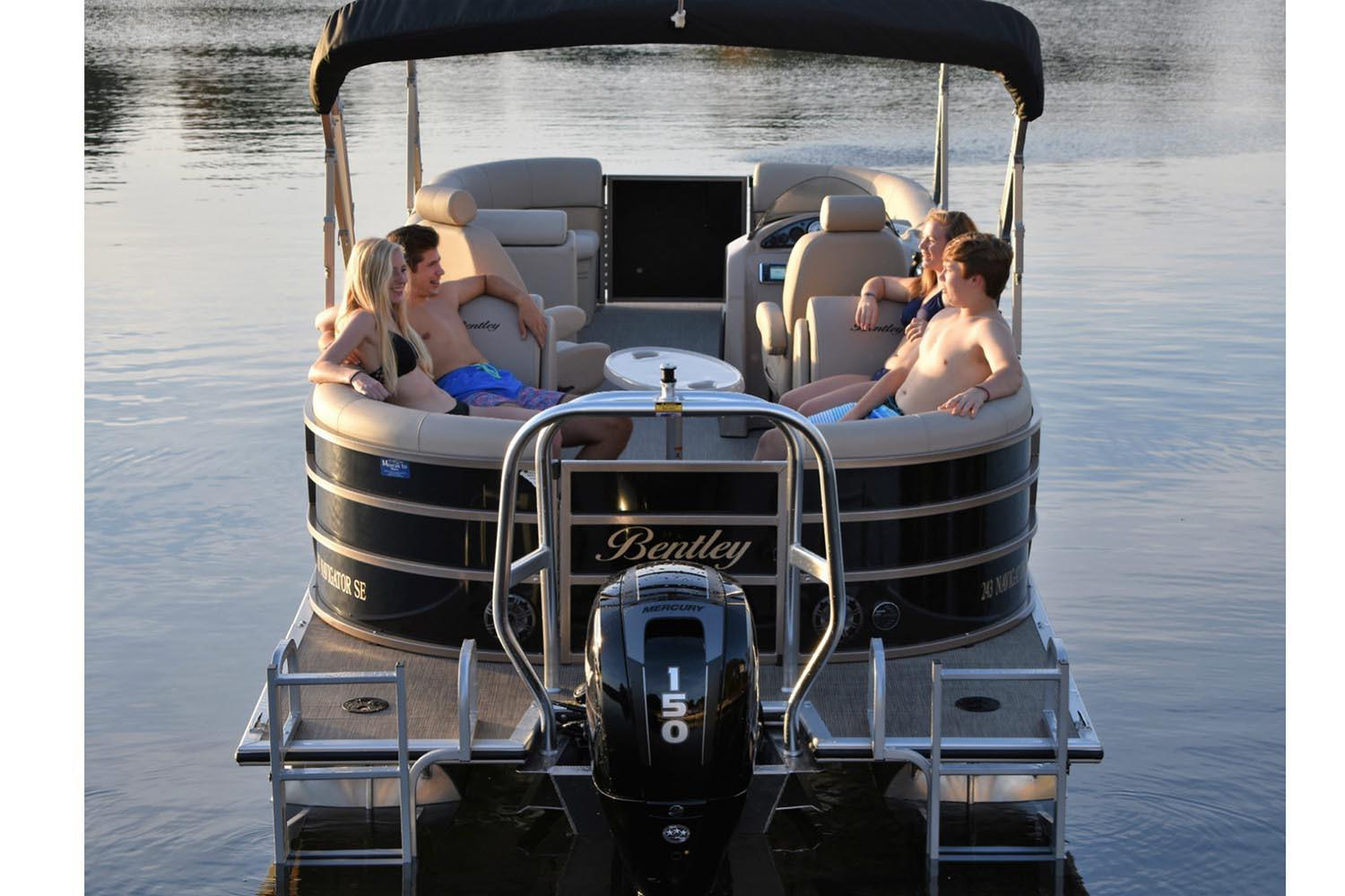 2019 Bentley Pontoons 240 Navigator in Norfolk, Virginia - Photo 1