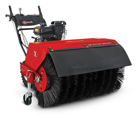 Exmark Rotary Broom in Columbia City, Indiana